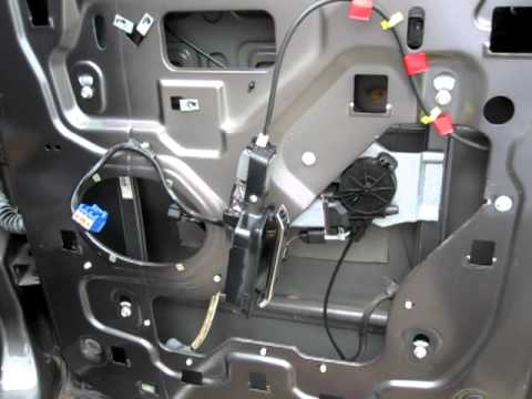 ford  window regulator broken youtube