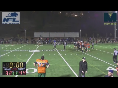 IFL: Jerusalem Lions Vs Judean Rebels