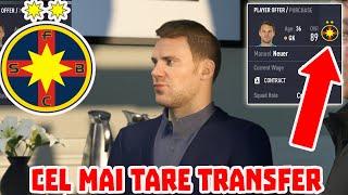 MANUEL NEUER SE TRANSFERA LA FCSB / CARIERA FIFA 21 #22