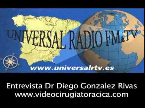 Entrevista Diego Gonzalez Rivas Universal radio FM (Cowboy de Medianoche)