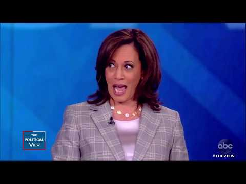 Sen. Kamala Harris on Reparations and Border Security   The View