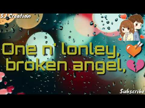 Broken Angel | Sad | Lyrical | Hollywood Song WhatsApp Status Video