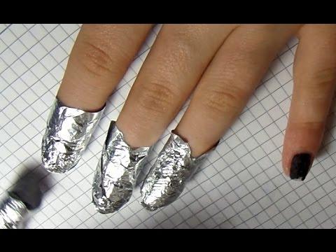 Как стереть гель лак с ногтей в домашних условиях без фольги и ацетона