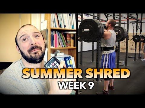 I MESSED UP BAD!!! | Summer Shred (Week 9)