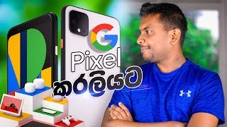 Google Pixel 4 with Pixel Buds 🇱🇰