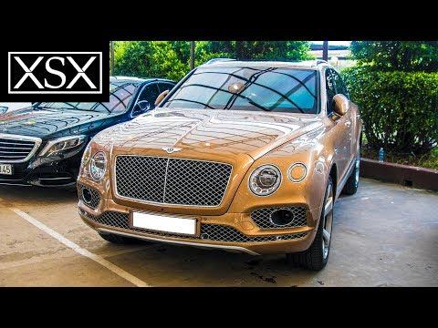 Chiêm Ngưỡng Bentley Bentayga Màu Vàng Đồng Cực Hiếm Tại Việt Nam | XSX
