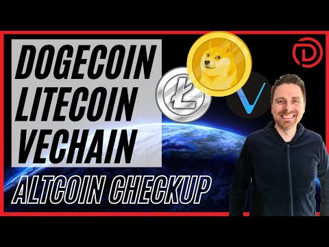 DOGECOIN, Litecoin U0026 Vechain   Altcoin Checkup