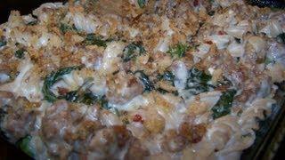 Sausage And Broccoli Rabe Casserole