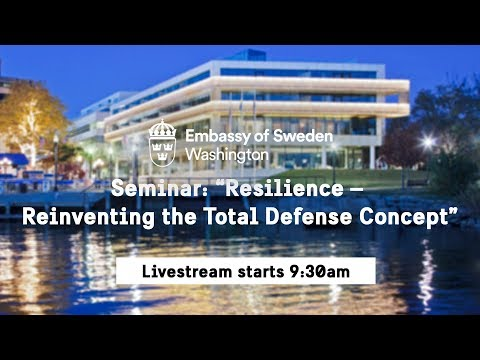 "Seminar: ""Resilience – Reinventing the Total Defense Concept"""