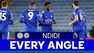 EVERY ANGLE | Wilfred Ndidi vs. Chelsea | 2020/21