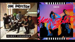 Youngblood Changes | One Direction & 5 Seconds of Summer Mashup!