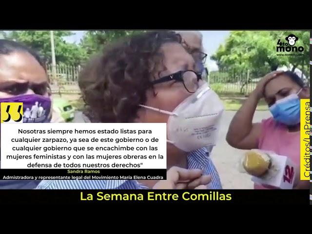 Sandra Ramos denunció el asedio policial ocurrido el viernes