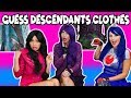 Guess the Descendants Clothes Challenge (with Fake Mal, Evie and Lonnie)