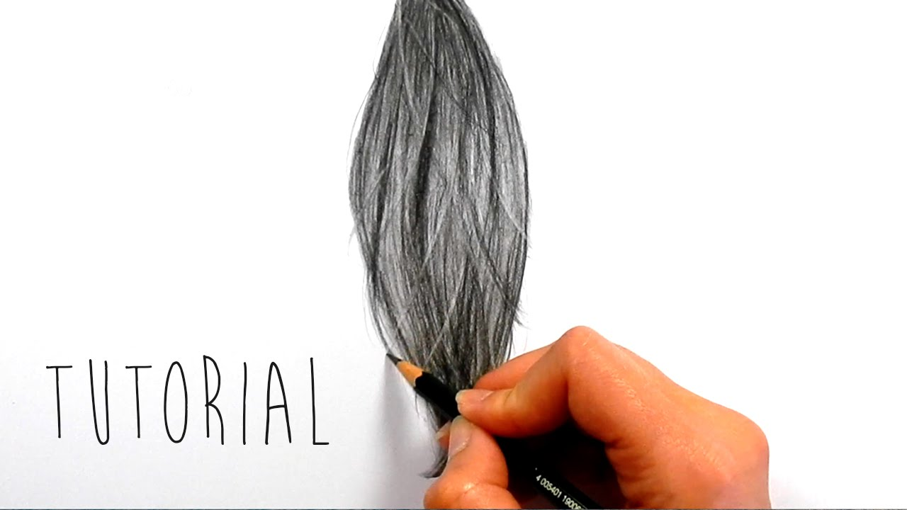 Tutorial | How to draw, shade realistic hair with graphite ... Emmy Kalia