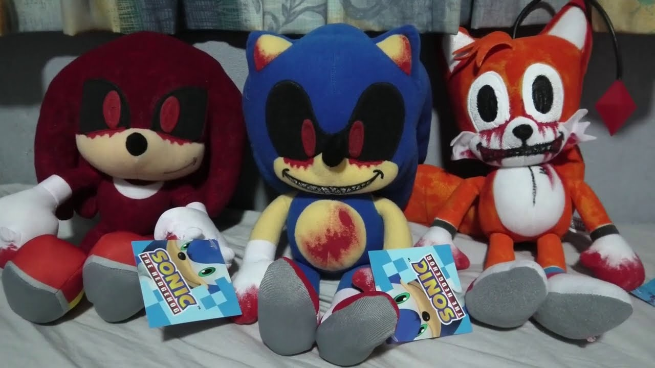 Sonic.EXE Claw Machine Plushies