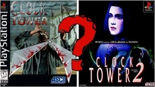 CLOCK TOWER 2 - voice acting in japanese and english versions