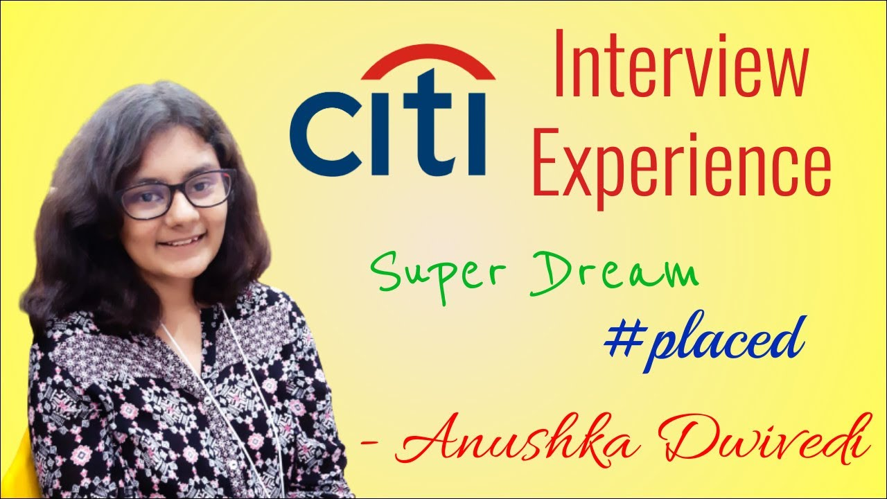 Download Citi Bank Interview Exp (Analyst) 🔥🔥 Ft. Anushka 😎🔥