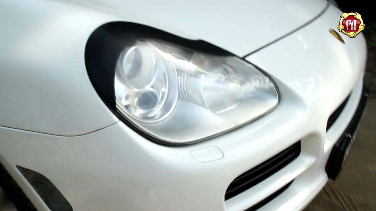 Реснички Porsche Cayenne (russ-artel.ru)