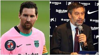 Lionel Messi EXPLOTÓ contra el Barcelona y Bartomeu previo al debut en la liga | Fuera de Juego