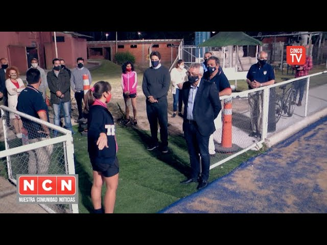 CINCO TV - Julio Zamora recorrió el Tigre Rugby Club (TRC)