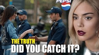 Kendall JENNER & PEPSI Commercial - The DARK SATANIC Agenda U may have MISSED