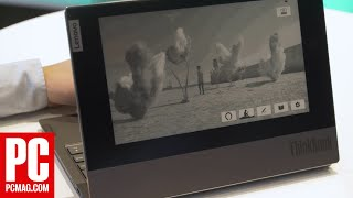 Lenovo's Twin-Screen ThinkBook Plus Has E Ink All Over the Lid