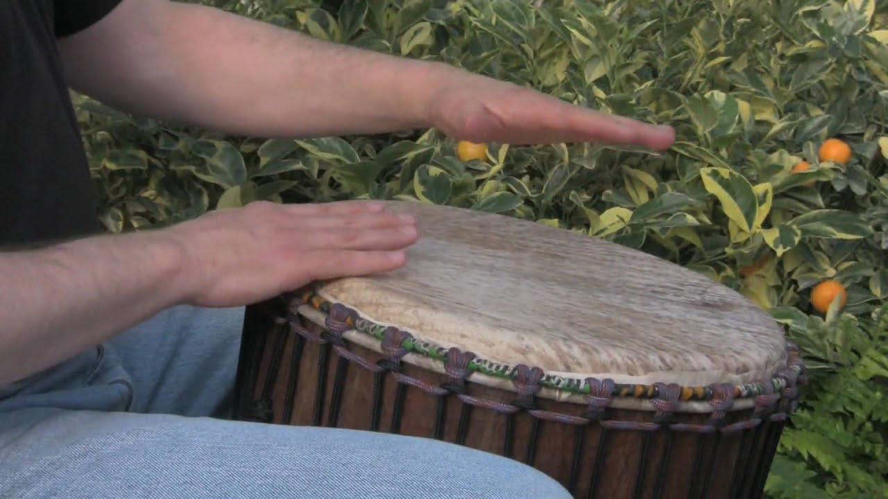 Gentle Djembe for Beginners 3: Playing in 6/8 Time, Djembe lessons ...