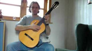 Neil Stewart. Rory Dall`s Sister`s Lament. Classical Guitar