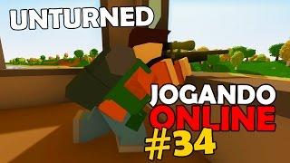 Unturned Jogando Online #34 (Ft. Dead)