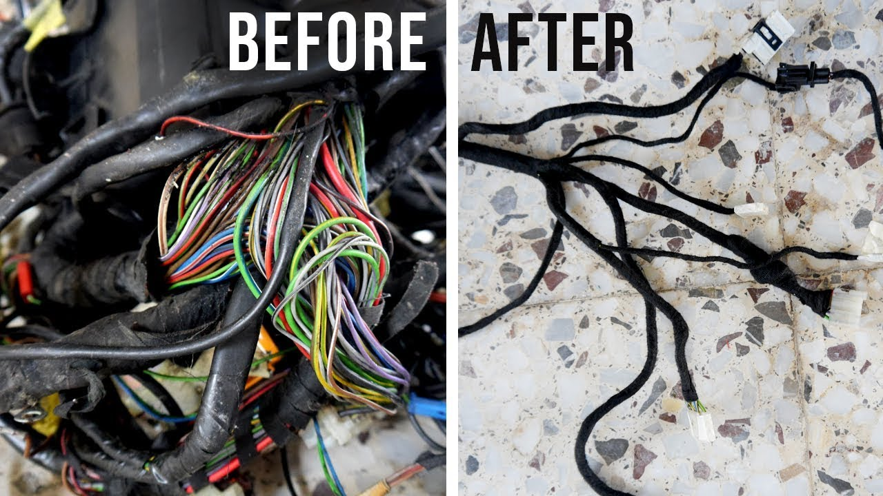 hight resolution of bmw e30 wiring loom restoration bmw e30 325i sport restoration e9 e30 engine wire harness bmw