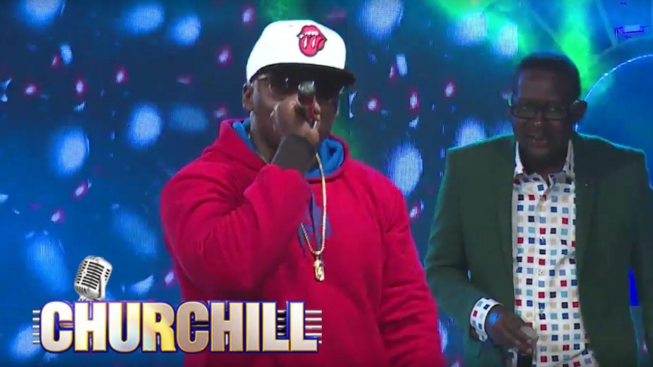 Khaligraph Jones performs 'Ulimwengu Wa Leo' on Churchill show