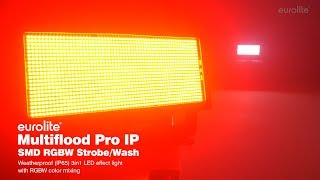 EUROLITE Multiflood Pro IP SMD RGBW Strobe/Wash