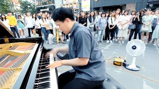 TOP 10 Fastest Street Piano Performances