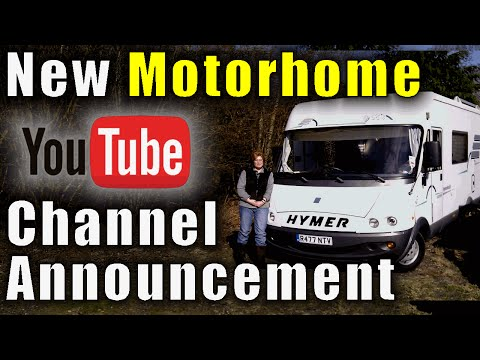 New Motorhome YouTube Channel Announcement