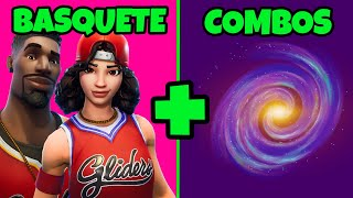"* BASKETBALL SKINS * BEST COMBOS TRYHARD FORTNITE ""OG COMBOS FORTNITE"" 
