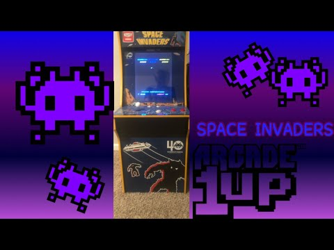 Space invaders Arcade1up first look. (⚠️WARNING ITS CRING⚠️!) from AMCG_DjAmoney