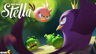 Angry Birds Stella -  New Update Golden Map Walkthrough Part 33