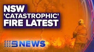 NSW shuts 500 schools as catastrophic fire conditions forecast | Nine News Australia