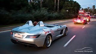 x4 Mercedes SLR Stirling Moss Start Up and Acceleration Sound