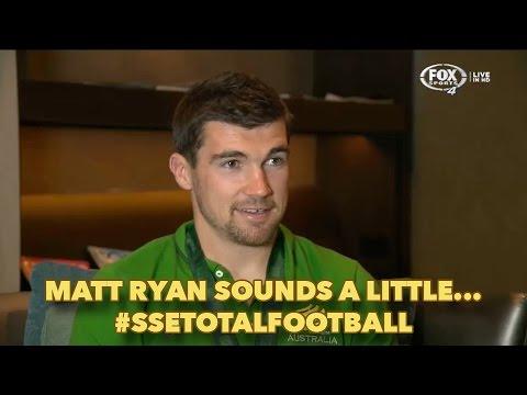 Matt Ryan sounds a little...