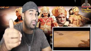 KURUKSHETRA Kannada Trailer   Munirathna   Darshan, Ambarish,Arjun Sarja   Naganna  TELUGU REACTION
