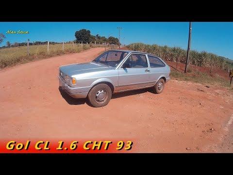 Gol CL 1.6 CHT 93   impressões ao dirigir