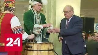 День рождения МГУ завершился праздничной медовухой