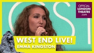 West End LIVE 2018: Emma Kingston