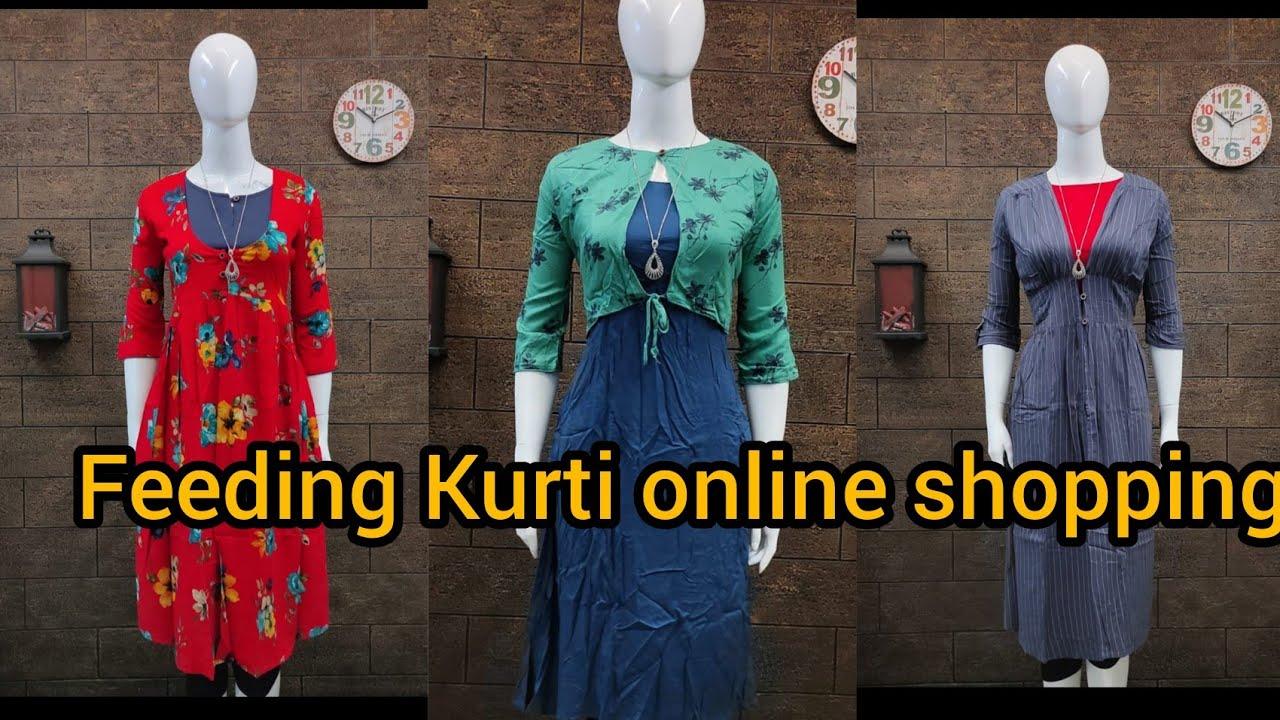 Maternity Feeding Kurti Online Boutique Shopping Priya S Magic World Youtube