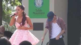 Repeat youtube video Ariana Grande Pink Champagne Fresno Fair 10-13-12