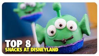 TOP 8 Snacks at Disneyland   Best & Worst of Disneyland