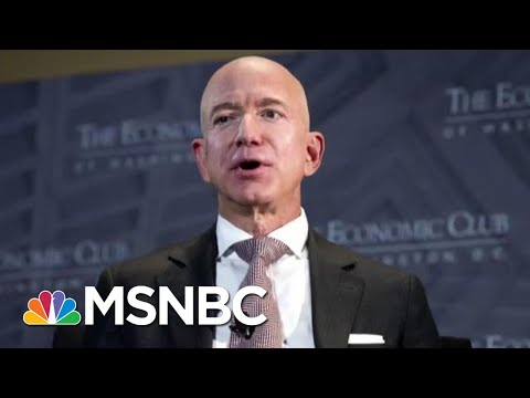Jeff Bezos Accuses National Enquirer Owner Of Blackmail | The Last Word | MSNBC