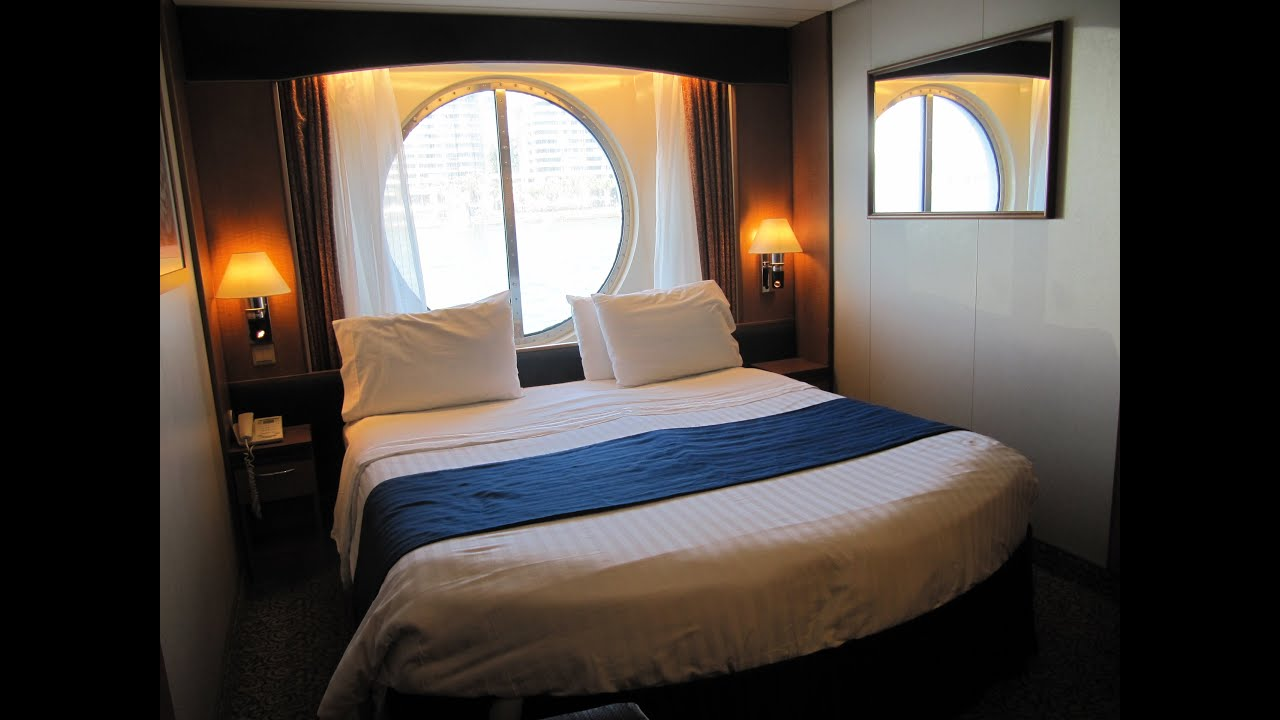 Radiance of the seas large ocean view stateroom ocean for Brilliance of the seas cabins