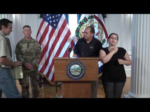 Gov. Tomblin addresses State of Emergency, response efforts